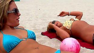 Public lesbian, Beach, Mercedes lynn, Lesbian beach, Beach sex