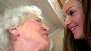 Granny lesbian, Hairy pussy, Granny, Granny norma, Old and young, Hairy lesbians
