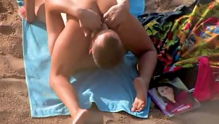 Oral, Beach voyeur, Voyeur beach