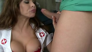 Squirt, Squirting, Caught, Milf squirt, Big tits, Nurse