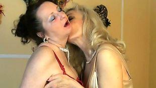 Bisexual, Lesbian, Lesbians, Stockings, Lesbians kissing, Stocking