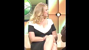 长腿美腿, 金发女郎, 大b