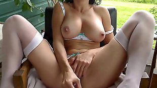 Squirt, Outdoor, Squirting, Squirt face, Face squirt