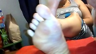 Foot, Show, Showing, Fetish, Lady