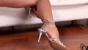 Lesbian foot, Lesbian heels, Legs, Leggings, Hungarian, Doggy