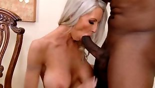 Milf interracial, Cum on pussy, Mature interracial, Mature, Interracial mature