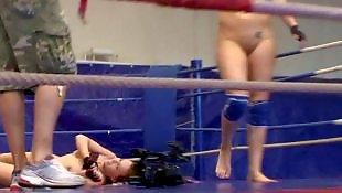 Gym, Wrestling, Lesb