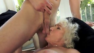 Granny norma, Granny, Mature blowjob, Hairy granny, Mature, Hairy mature