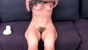 Granny, Mature, Hairy masturbation, Hairy fingering, Panty, Panties