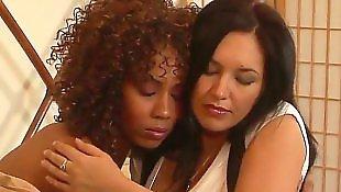 Interracial lesbian, Lesbian interracial, Ebony lesbians