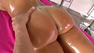 Lisa ann, Oil, Ann, Massage, Porn stars, Ass massage