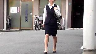 Asian, Skirt, Upskirt, Voyeur, Asian amateur