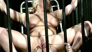 Torture, Meaty pussy, Slave, Tit torture