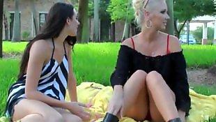 X girl friend, New lesbians, New lesbian, New girl, New blonde, Molly lesbian kissing