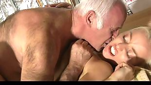 Old man, Mature blowjob, Mature fuck, Mature, Mature blonde