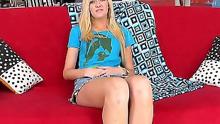 Busty teen, Miniskirt