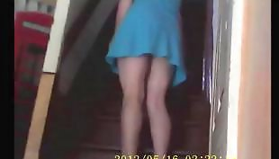Mother, Cleaning, Upskirt, Compilation, Voyeur, Upskirts