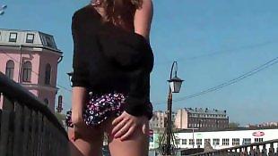 Russian, Public, Russian teen, Nudist, Teen, Nude