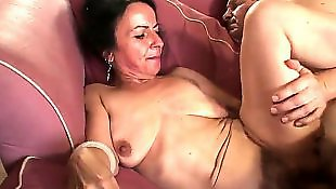 Mature, Hair pulling, Swiss