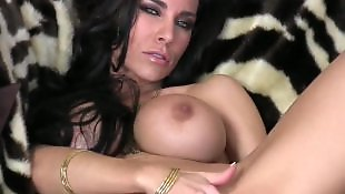 Pornstar solo, Big tits solo, Busty masturbation, Self, Pussy close up, Huge tits solo