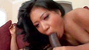 Трах в горло, Длиные ногти порно, Азиатки и чёрные