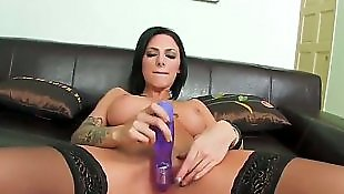 Stocking dildo
