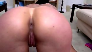 From behind, Fat ass, Fat pussy, Kendra, Behind, Big cock anal