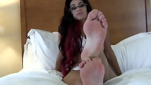Foot fetish, Toes, Foot, Suck, Stocking