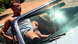 Nicole aniston, Car, Car blowjob