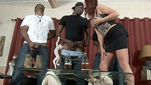 Milf interracial, Double, Interracial gangbang, Gangbang, Interracial anal, Double penetration