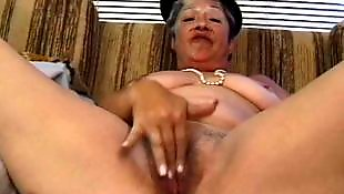 Older, Bbw granny, Hairy bbw, Granny facial, Blow, Hairy brunette