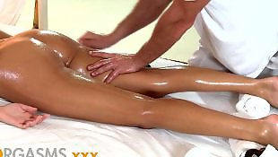 Teen massage, Teen orgasm, Oiled, Orgasm, Oil massage, Oil