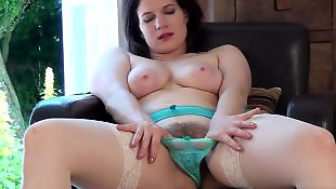 Moms, Milf stockings, Mom, First, Hairy, Hairy stockings