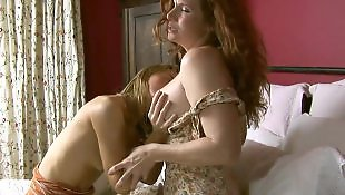 Mature lesbian, Milf lesbian, Mature, Lesbian tits, Home