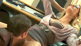 Office, Secretary, Jessica drake, Glasses, Work, Office sex