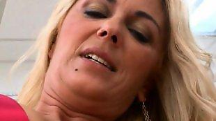 Natural tits, Swallows, Amateur facial, Milf handjob, Backroom, Milf swallow