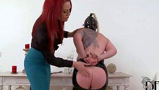 Femdom, Slave, Perky tits, Ddf network, Perky, Mask