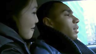 Car blowjob, Asian amateur, Car