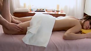 Small tits, Missionary, Teen massage, Natural tits, Shaving pussy, Pussy massage
