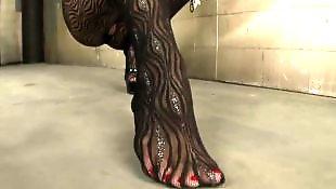 Чулки и каблуки, Супер каблук, Мастурбирует и дразнит, Мастурбация чулки каблуки анал, Мастурбация в чулках, Мастурбация большие сиськи чулки