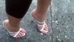高跟鞋特写, 高跟脚, 高跟恋足, 高跟, 鞋跟b, 脚底特写