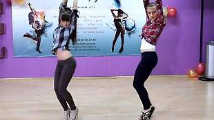 Dance, Russian teen, Russian, Dancing, Voyeur