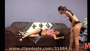 Brazilian, Feet, Brazilian lesbian, Foot slave, Lesbian slave, Lesbian feet
