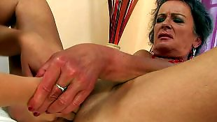 Granny lesbian, Granny hd, Old and young, Teen hd, Granny, Red nails