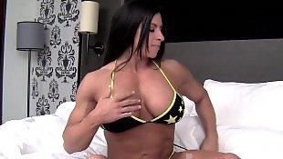 Posing, Boobs, Big boobs, Big, Brunette