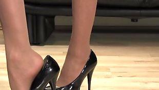 丝袜高跟, 黑丝袜, 高跟鞋, 丝袜高跟鞋, 吉泽明步