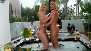 Ass masturbation, Shower, Nicole aniston, Lesbian bikini, Tease, Lesbian shower