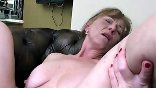 Very hairy british housewife aunty with saggy tits 9