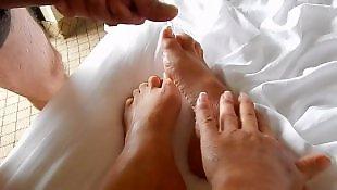 Sexy feet, Cum on feet, Feet cum, Cum feet