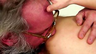 Vieille grosse masturbe, Cul de vielle